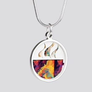 Colorful Cup of Coffee copy Necklaces