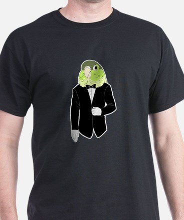 Green Cheek Conure Tuxedo T-Shirt