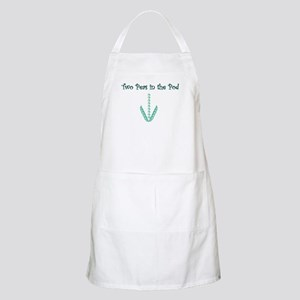 Two Peas in the Pod (twins) BBQ Apron