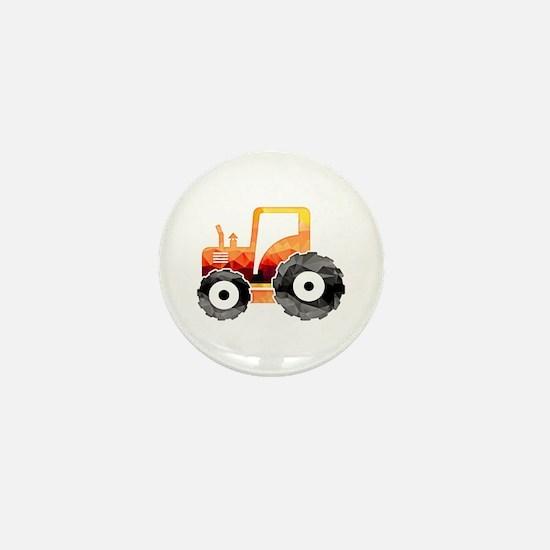Unique Tractors Mini Button