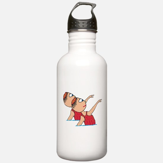 Synchronised Swimming Sports Water Bottle