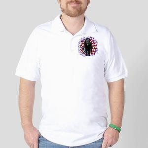 Schipperke Patriotic Golf Shirt