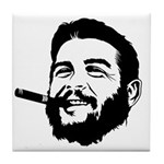 Che Guevara Stencil Tile Coaster