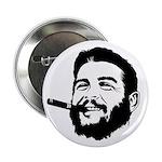 Che Guevara Stencil Button