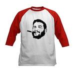 Che Guevara Stencil Kids Baseball Jersey