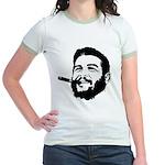 Che Guevara Stencil Jr. Ringer T-Shirt