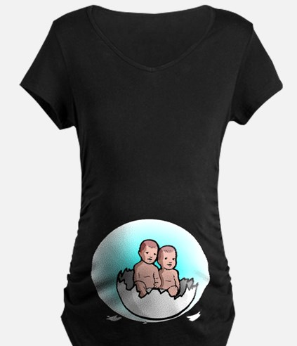 Twins in Egg T-Shirt