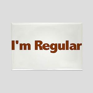 I'm Regular Rectangle Magnet