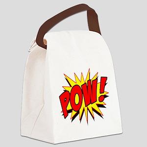 Pow! Canvas Lunch Bag