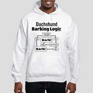 Dachshund Logic Hooded Sweatshirt