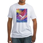 Dove Rising Fitted T-Shirt