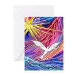Dove Rising Greeting Cards (Pk of 10)