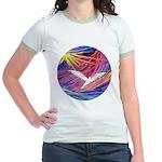 Dove Rising Jr. Ringer T-Shirt