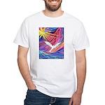 Dove Rising White T-Shirt