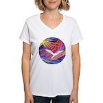 Dove Rising Women's V-Neck T-Shirt