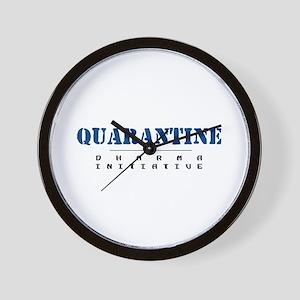 Quarantine - Dharma Initiative Wall Clock