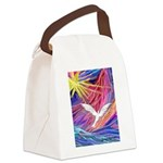 Dove Rising Canvas Lunch Bag