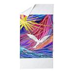 Dove Rising Beach Towel