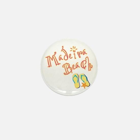 Madeira Beach - Mini Button