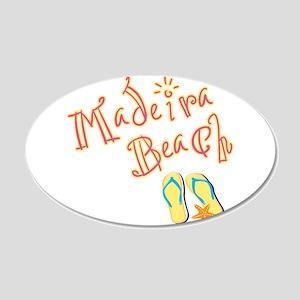 Madeira Beach - 20x12 Oval Wall Decal