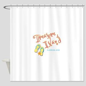 Treasure Island - Shower Curtain
