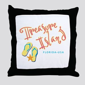 Treasure Island - Throw Pillow