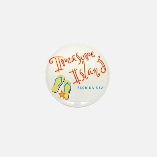 Treasure Island - Mini Button