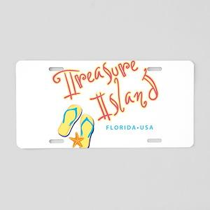 Treasure Island - Aluminum License Plate