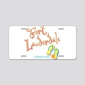 Fort Lauderdale - Aluminum License Plate