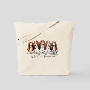 Basset Hound Bevy Tote Bag