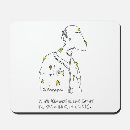 Sputum Induction Clinic Mousepad
