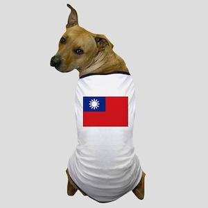 ROC flag Dog T-Shirt