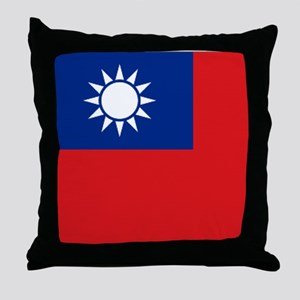 ROC flag Throw Pillow