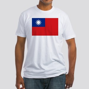 ROC flag Fitted T-Shirt