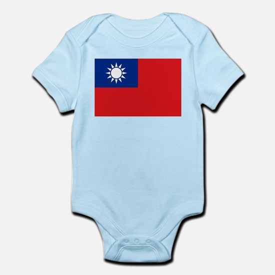 ROC flag Infant Bodysuit
