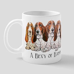 Basset Hound Bevy Mug