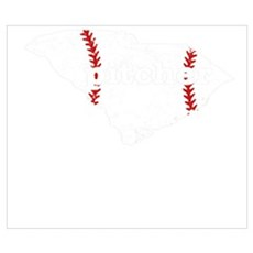 Baseball Pitcers Shirt South Carolina Sof Wall Art Poster
