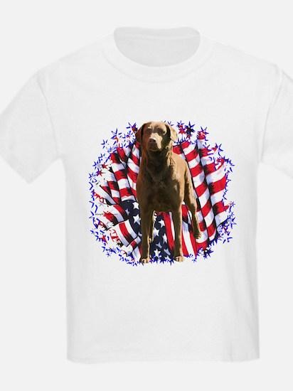 Chessie Patriotic T-Shirt