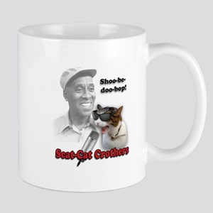 Scat Cat Design 1 Mugs