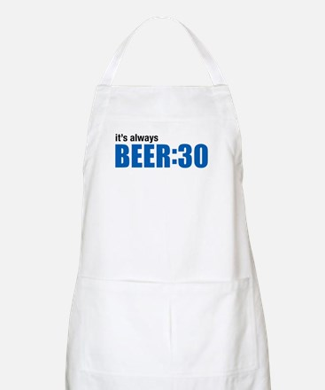 It's always BEER:30 BBQ Apron