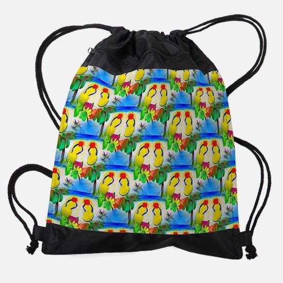 Funny Back flip Drawstring Bag