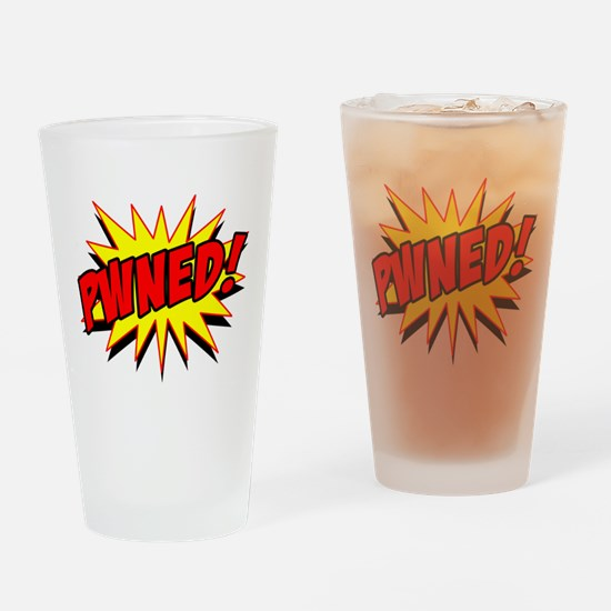 Pwned! Drinking Glass