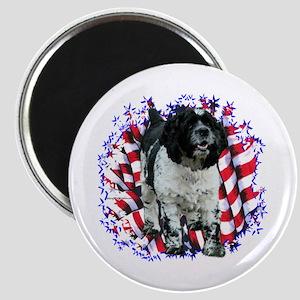 Cocker Spaniel Patriotic Magnet