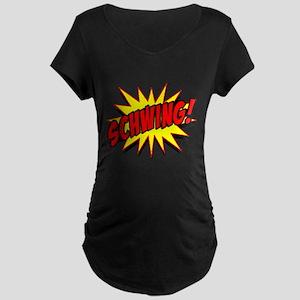Schwing! Maternity Dark T-Shirt