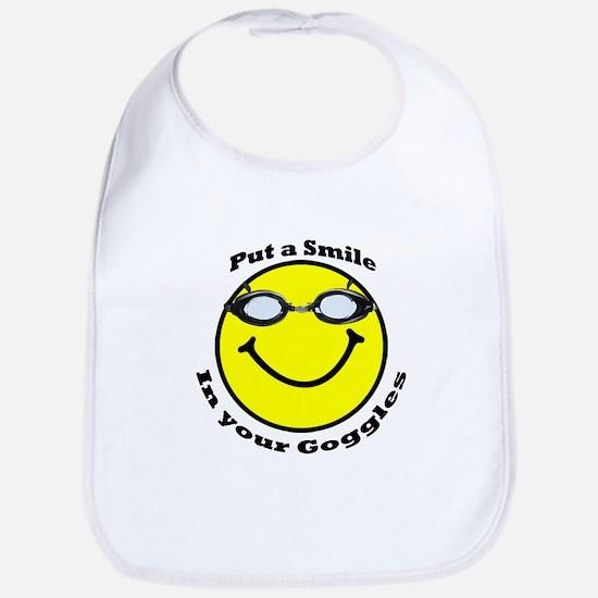 Smiling Goggles Bib