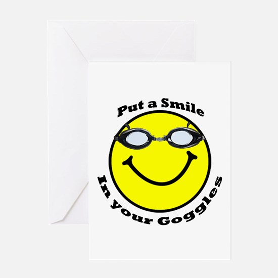 Smiling Goggles Greeting Card
