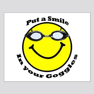 Smiling Goggles Small Poster