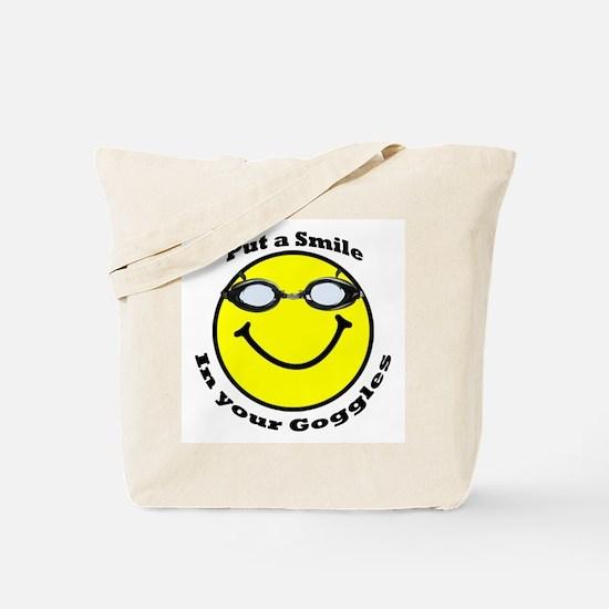 Smiling Goggles Tote Bag