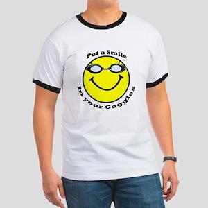 Smiling Goggles Ringer T
