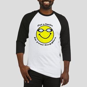 Smiling Goggles Baseball Jersey